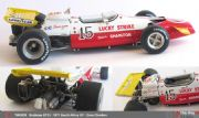 Brabham BT33 1971 South African GP Dave Charlton lucky strike : TWU039